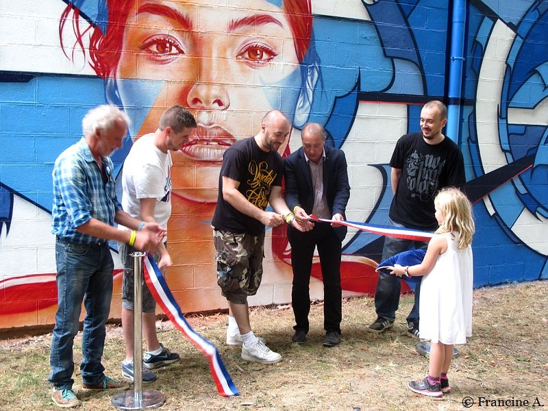 fresque en l'honneur de La Marseillaise Choisy le Roi
