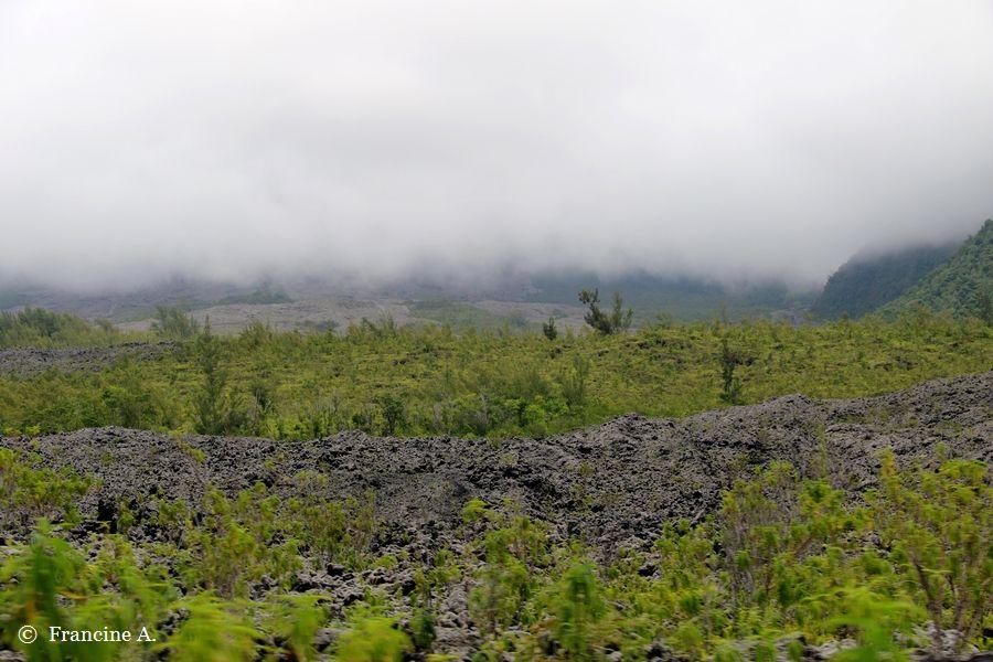 Le Grand Brûlé Route des Laves Réunion