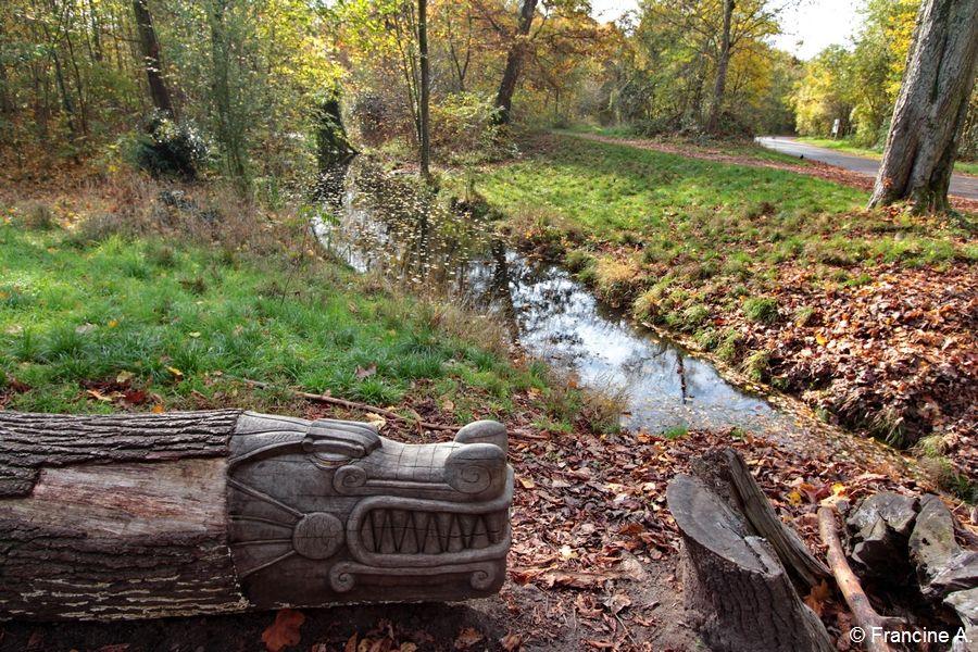 Arbres sculptés Bois de Vincennes