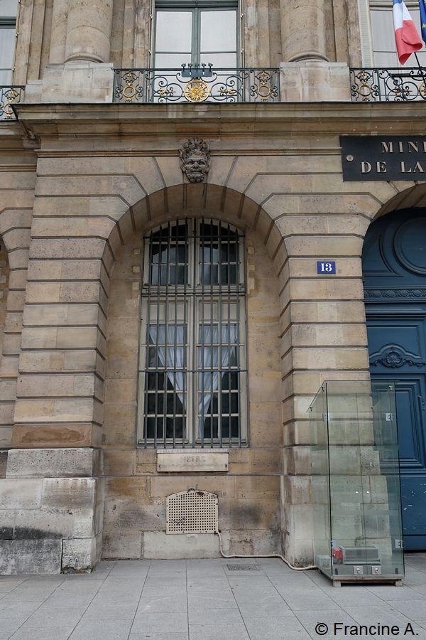 Mètre étalon Paris
