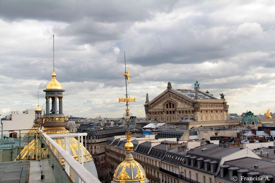 terrasse du Printemps Haussmann Paris