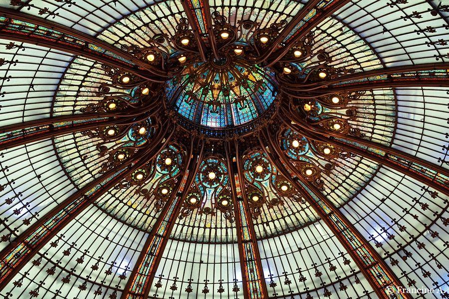 La coupole des Galeries Lafayette Haussmann
