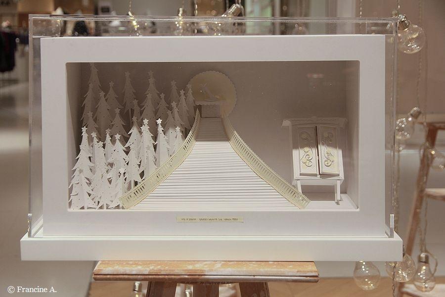 Les Vitrines extra polaires des Galeries Lafayette Haussmann Paris