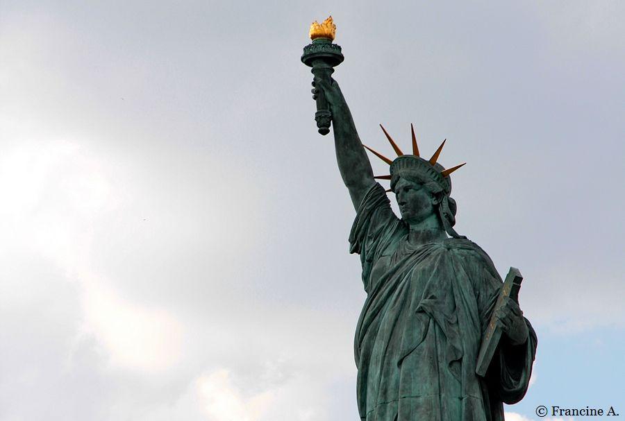 Statue de la Liberté Ile aux cygnes Paris