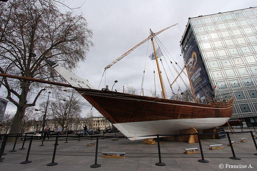 Un boutre d'Oman à Paris