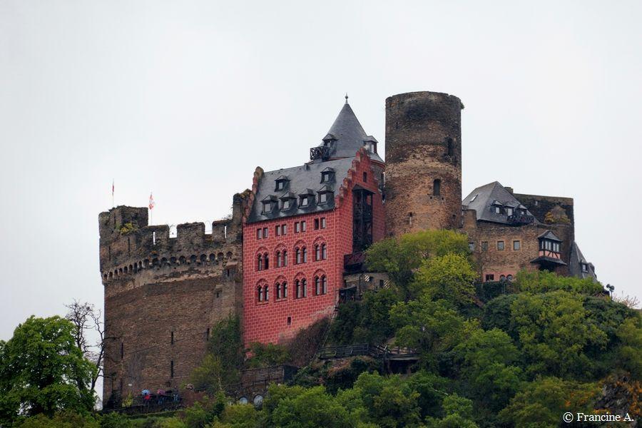 Château fort Schönburg