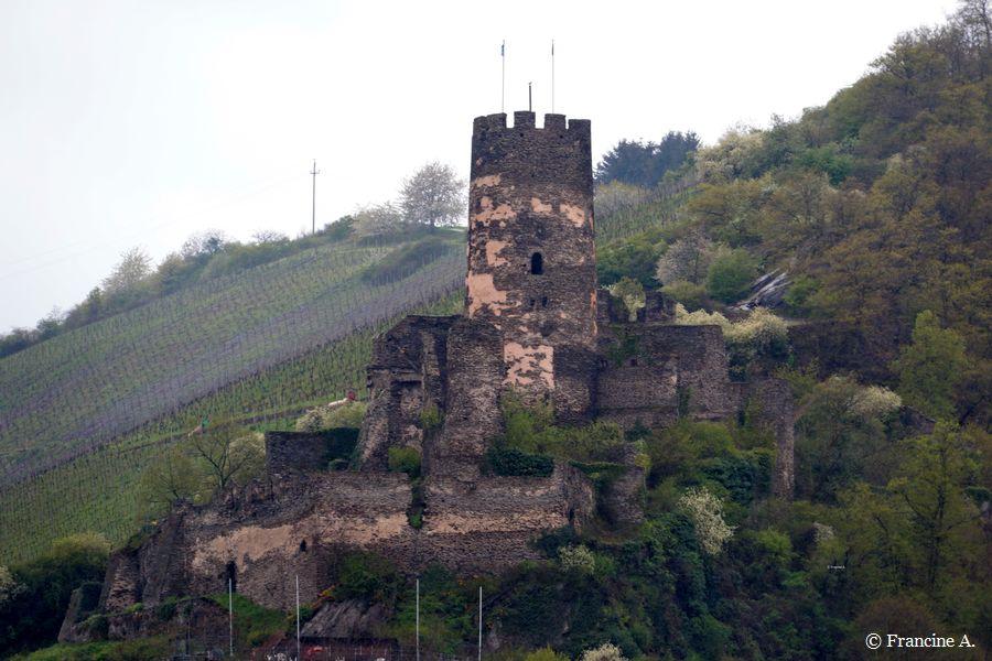 La ruine du château fort Fürstenberg