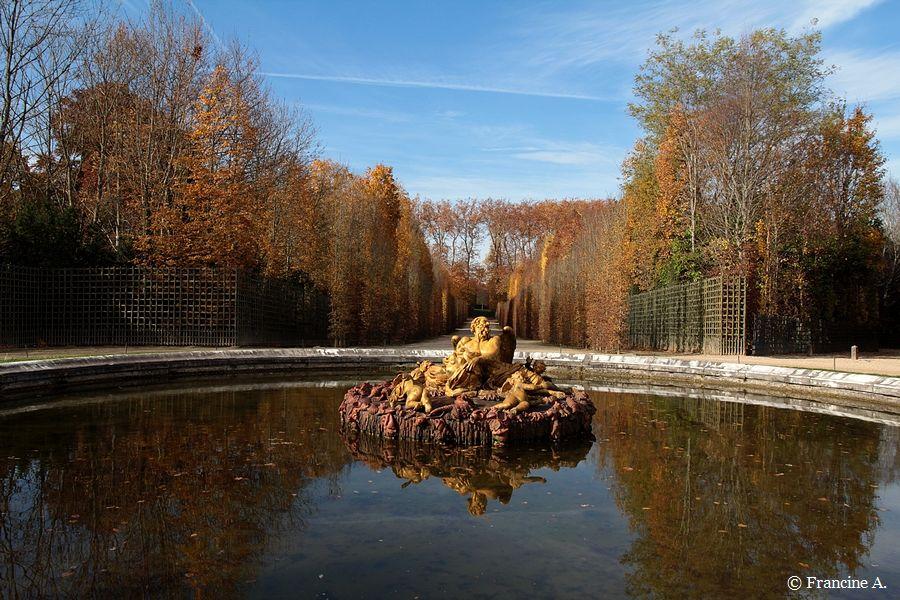 Bassin de Saturne Versailles