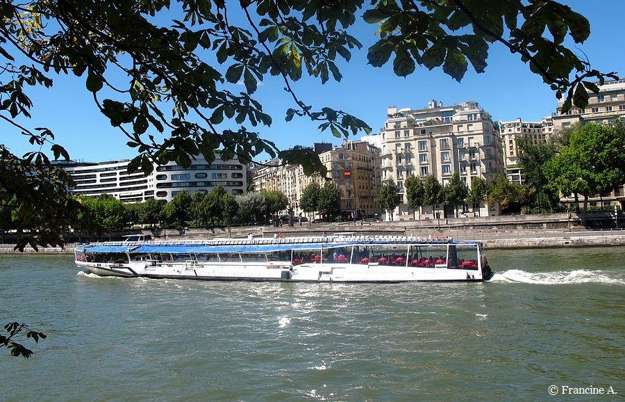 Paris Ile aux Cygnes