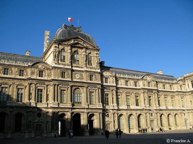 Cour carrée Le Louvre Paris